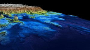 topographic high resolution bathymetry