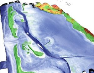 LIDAR at the High Resolution Coastal Zone Mapping