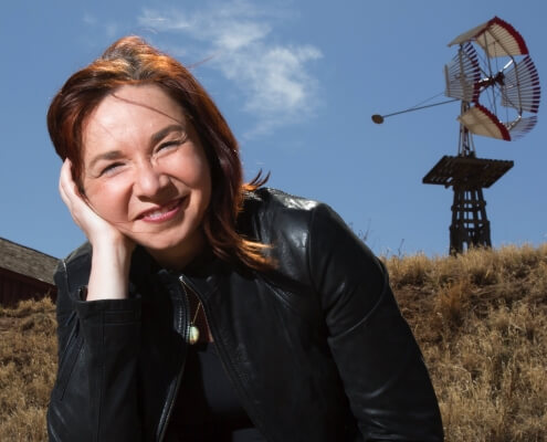 Dr. Katharine Hayhoe is a climate scientist, a professor in the Department of Political Science and the Director of the Climate Science Center at Texas Tech University